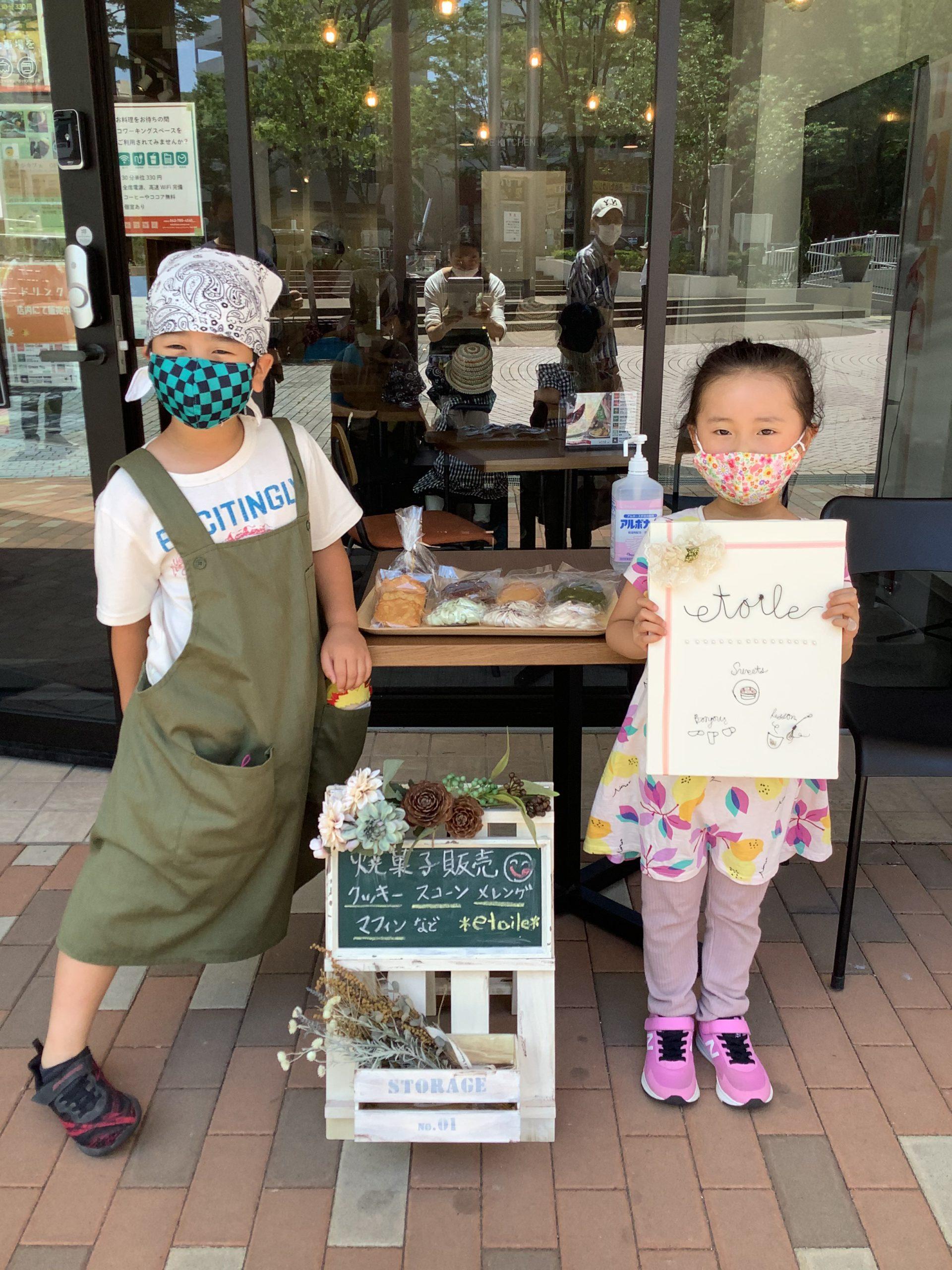 6月「etoile」さんカフェ営業レポート